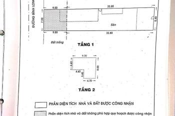 Bán nhà mặt tiền đường Bình Long, 8mx43m, nhà cấp 4, giá: 29 tỷ, P. Tân Quý, Q. Tân Phú