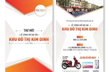 Mở bán giai đoạn đầu có 7 xuất nội bộ giá mềm, nằm ngay mặt tiền Lê Đại Hành,P.Kim Dinh, TP.Bà Rịa