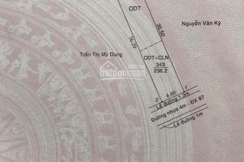 Bán đất mặt tiền DX 087 Hiệp An - Thủ Dầu Một - Bình Dương. Vị trí đầu tư đẹp