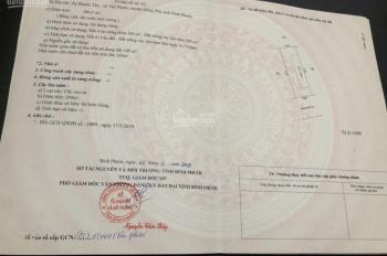 Đất chính chủ ngay TP Đồng Xoài 10x30m (300m2) thổ cư 100m2, sổ hồng, giá 520tr, SĐT 0338300715