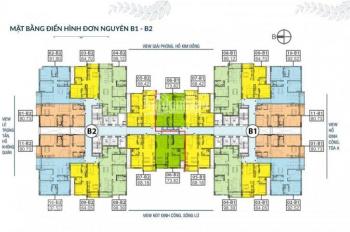 Thu hồi vốn đầu tư bán gấp CH 176 Định Công Sky Central, T1610 - 72m2 và 1606 - 90m2, 28 tr/m2. MTG