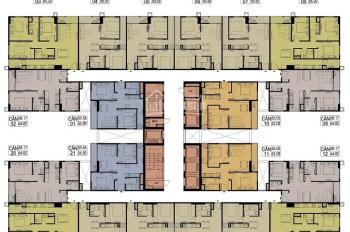 Chính chủ CC Hateco Xuân Phương cần bán gấp, căn 1516, 58m2, BC ĐN, giá rẻ 24tr/m2, LH 0979584600