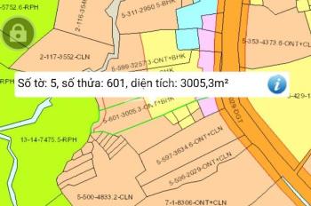 Bán đất thổ cư 3000m2, MT đường 20m, Tân Phú, Đồng Nai
