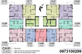 Bán căn hộ chung cư A10 Nam Trung Yên, Nguyễn Chánh. 32tr/m2