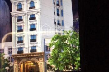 Cho thuê tòa nhà căn hộ dịch vụ 8 tầng, 1 hầm, MT 8m, gồm 12 căn