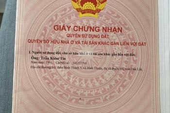 Kẹt tiền tiêu tết nên bán lô đất khu phố 2 thị trấn Chơn Thành, diện tích 165m2, giá chỉ 510tr