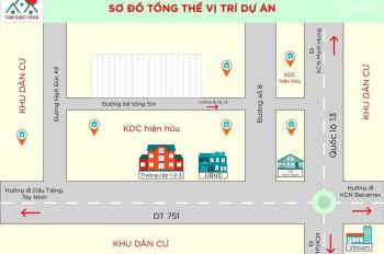Bán đất trung tâm thị trấn Chơn Thành giá đầu tư siêu lợi nhuận