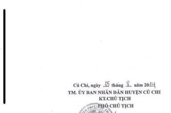 Cần bán nhà mặt tiền Nguyễn Phong Sắc, gần chợ Quảng Việt thị trấn Củ Chi, giá 4,5 tỷ