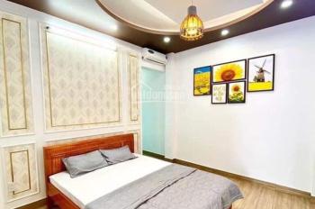 Bán nhà đang có thu nhập 150 tr/th, Phạm Văn Chiêu, P9, GV, DT: 7.2*18m, hầm 6 tầng, 14.5 tỷ