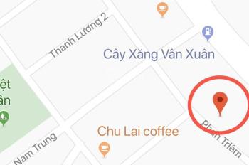 Bán đất đường Phan Triêm đấu lưng Võ Chí Công sát trục đường Trần Nam Trung, giá cực rẻ: 0935666742