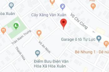 Bán đất đường Phan Triêm đấu lưng Võ Chí Công, gần Trần Nam Trung. LH: 0972236542