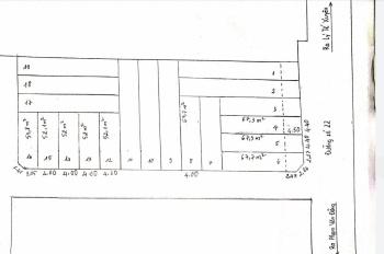 Chính chủ cần bán 9 lô đất liền kề ngay đường 22, Linh Đông, dân cư hiện hữu, LH 0906656554