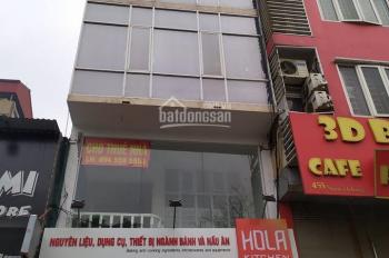 Cho thuê nhà 100m2 x 4 tầng phố Nguyễn Khang. 45 triệu/th