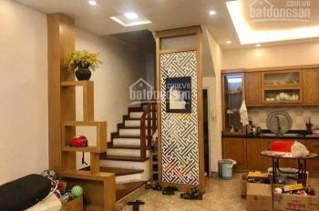 Cho thuê nhà xây mới ngõ 165 Thái Hà, Trung Liệt, Đống Đa 55m2 x 4T cách ô tô 20m giá 14tr/th