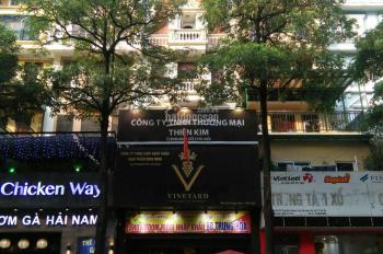 Cần cho thuê nhà mặt phố Trung Hòa, diện tích 140m2 x 4,5 tầng, MT 6,5m. Tiện kinh doanh 90tr/th