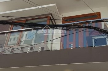 Bán nhà hẻm xe hơi Lê Văn Thọ, 1 Trệt 3 Lầu, nhà mới full nội thất