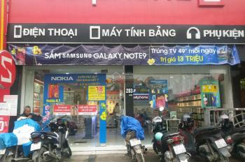 Cho thuê nhà mặt phố Tây Sơn, DT 100m2 x 5T, MT 7m. Có thang máy, PCCC, thông sàn, có cho thuê lẻ
