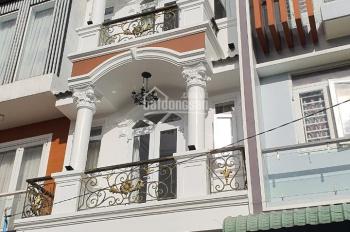 Nhà như hình 6 tỷ, 4x15m = 60m2, trệt + 2 lầu, sân thượng, đường 5m, ngay chợ Hiệp Bình