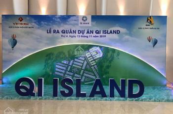 Đất nền Shophouse khu đô thị Qi Iland đường Ngô Chí Quốc 40tr/m2, vay 75%