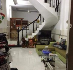 Cho thuê nhà nguyên căn 1 trệt 1 lầu, 2 WC, 3 phòng ngủ, 1 bếp, 1 phòng khách, sân phơi, sân để xe