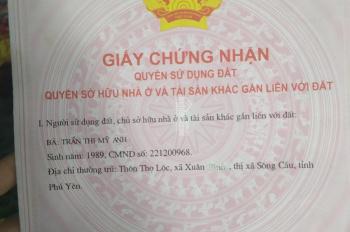 Gia đình cần tiền bán gấp đất Thọ Lộc Phú Yên 1186m2 giá rẻ như cho