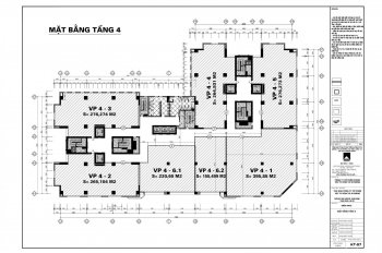 Cho thuê văn phòng Comatce Tower 61 Ngụy Như Kon Tum, Nhân Chính. Diện tích 90m2