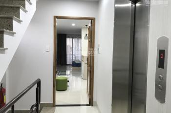 Cho thuê nhà hầm + 6 lầu gồm 25 CHDV, kèm 1 mặt bằng kinh doanh 125m2, ngay MT CMT8, Q10, 160tr/th