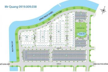 Cần bán gấp đất nền dự án Trí Kiệt, lô nhà phố trục đường 25m, giá 40.5tr/m2, LH: 0919009038 Quang
