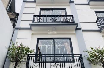 Tôi cần bán nhà Kim Ngưu, Lạc Trung 53m2, xây 4 tầng gần Times City ô tô vào nhà, KD giá 6.45 tỷ