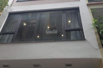 Cho thuê nhà phân lô mặt ngõ 42 phố Trần Cung. DT 55m2 x 5 tầng, mặt tiền 4m, ngõ rộng 8m