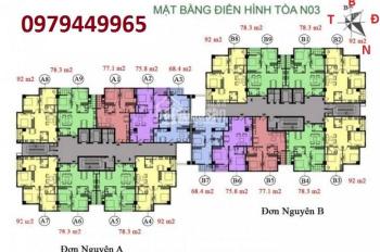 Bán căn hộ chung cư CT36 Định Công. Tầng 1604A DT 104m2, giá bán 2tỷ1/CH, LH 0979449965