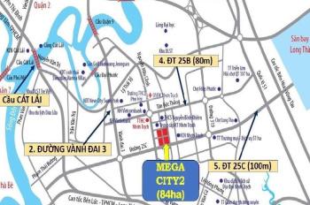 Cần bán gấp một số lô đất thuộc - TH5, T21, T28, TH24, TH25, TH26 - DA Mega City 2, LH 0972342819