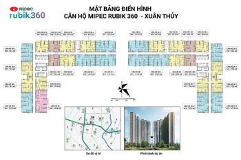 2PN, 2.4 tỷ căn hộ tốt nhất Cầu Giấy Mipec Rubik 360, Xuân Thủy Cầu Giấy. LH: 0946806888