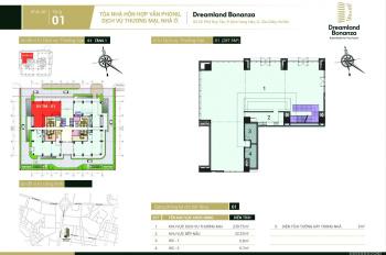 Cho thuê căn góc sàn thương mại văn phòng tầng 1,2 đắc địa nhất phố tài chính Duy Tân, KD cực tốt