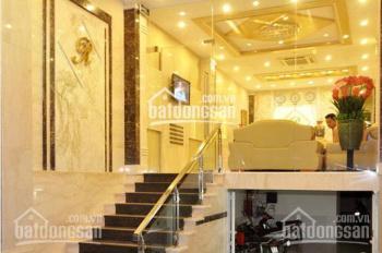 Cho thuê nhà mới xây MP Triệu Việt Vương 130m2 x 3 tầng, MT 6,5m. LH: O946850055