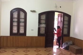 Cho thuê nhà nguyên căn lâu dài KĐT Định Công, 75m2*4T, MT 4.8m view chung cư, 18tr/th 096 585 0099