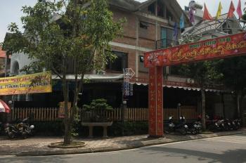 Anh Dũng chính chủ bán gấp lô góc biệt thự Tây Nam Linh Đàm, DT 236m2, 2 mặt đường, sổ đỏ chính chủ