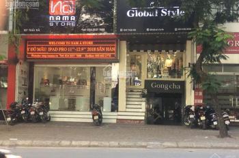 Cho thuê nhà MP Thái Hà 72m2 x 4 tầng mặt tiền 5.5m cực đẹp làm thời trang, ngân hàng, showroom