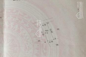 Cc cần bán gấp lô đất 51,5m2 mặt chính cổng làng Hà Trì, Hà Đông ô tô đỗ cửa, 2,4tỷ. LH 0399491986
