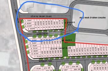 Kẹt nợ, bán lỗ bán gấp lô Phú Hồng Khang, lô 2 mặt tiền 25tr/m2, DT 68m2, đã có sổ, LH: 0948332553
