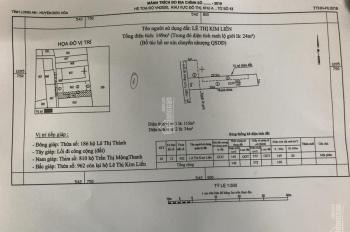 Bán 149m2 đất thổ cư, mặt tiền 5m đường đá xanh gần chợ thị trấn Hậu Nghĩa, Đức Hòa, Long An