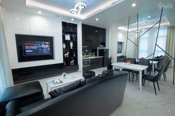 Cho thuê căn hộ dịch vụ 1 phòng ngủ + 1 phòng làm việc 80m2, giá 25.6 triệu/tháng