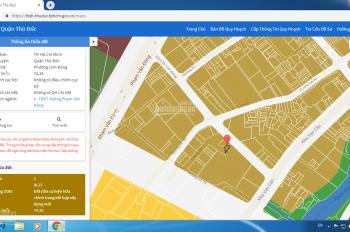 Chính chủ 100%: Bán đất đường 39 Phạm Văn Đồng (không qua đường rày) 75m2, 3.6 tỷ hẻm 6m, phí 1.5%