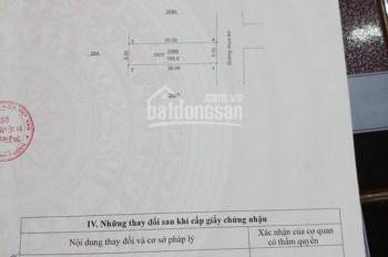 Bán đất Tân Định ngay UBND Tân Định, Bình Dương giá rẻ (diện tích: 5*20m 100m2 thổ cư 100m2)