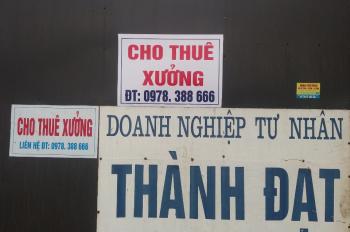 Cho thuê xưởng sản xuất tại cụm KTXH Hợp Thịnh, huyện Tam Dương, tỉnh Vĩnh Phúc