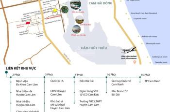 Đất nền MT đường Trần Đại Nghĩa  QH 16m,TT Cam Đức, Cam Lâm, Khánh Hòa. Giá 700 triệu/lô