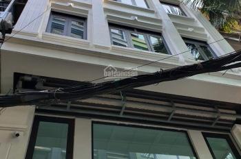 Cho thuê nhà ngõ Thái Hà - Láng Hạ, Đống Đa. DT 80m2, 7 tầng, MT 6m, thang máy giá 50tr/th