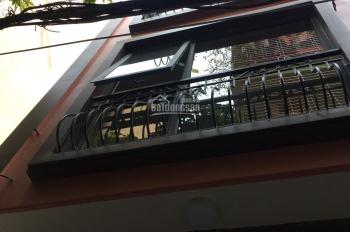 Bán nhà mặt ngõ 674 Phố Hoàng Hoa Thám, quận Ba Đình, HN, dt 38m2x5 tầng, mt 4.5m kinh doanh nhỏ dc