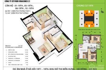 Làm hồ sơ cho khách mua nhà miễn phí tại chung cư NOXH 19T4 Kiến Hưng. LH 0904.66.83.02