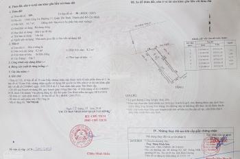 Bán đất mặt tiền Cống Lở, Q Tân Bình, TP Hồ Chí Minh (63.7m2, ~ 4x16m, 7.7 tỷ)
